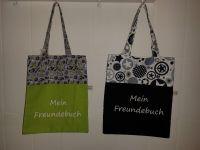 Freundebuchtaschen in verschiedenen Ausführungen (weitere Freundebuchtaschen im Lädele)